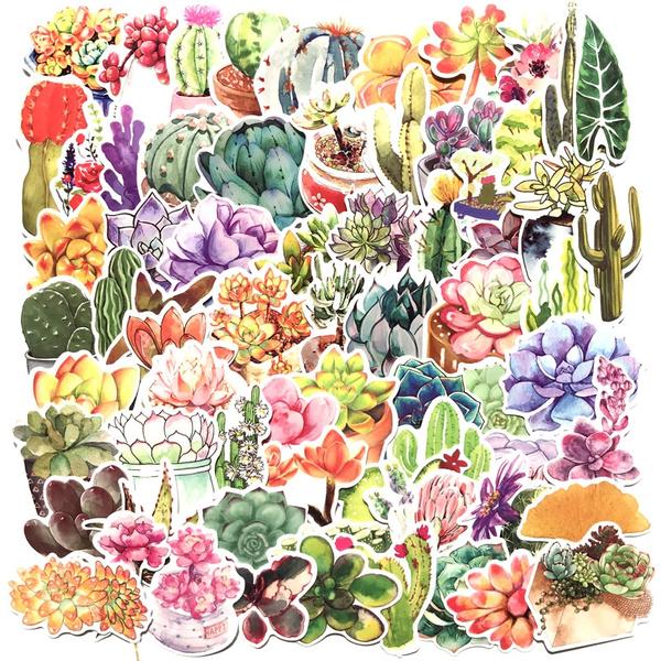 Mini, Plants, Bicycle, diarysticker