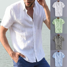 Summer, men's dress shirt, Fashion, Shirt