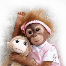 siliconevinlydoll, beberebornsilicone, monkey, Gifts