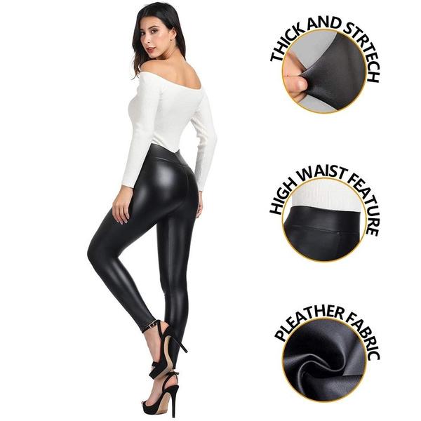 shiny leggings, Women Leggings, pants, high waist leggings