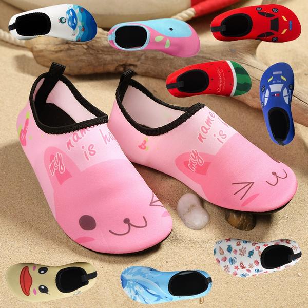 Kids Children Aqua Shoes Non-slip Quick Dry Beach Swim Pool Water Surf Shoes