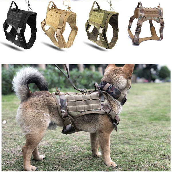 Pet Dog Backpack Tactical Training