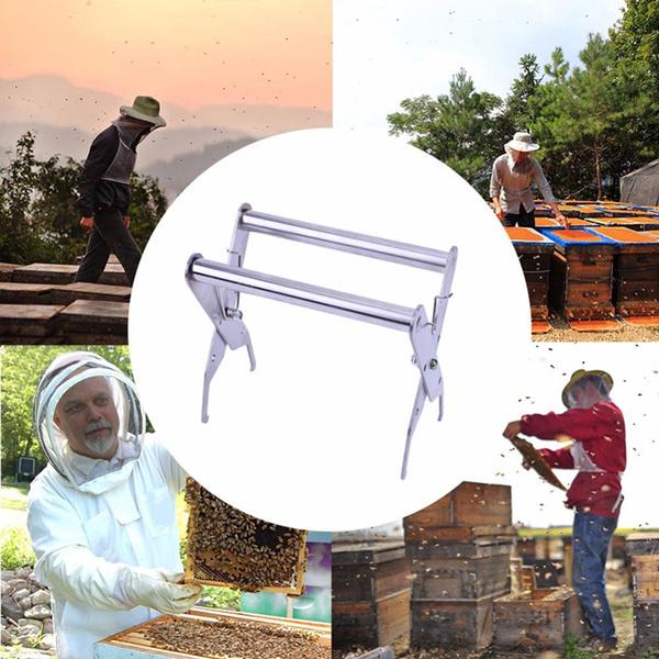 Tightening Honeycomb Spleen Grip Beehive Frame Clip Holder Stainless Steel