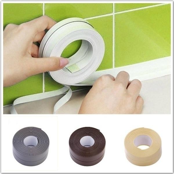 mildewresistant, cornersticker, Bathroom, Waterproof