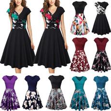 Summer, Plus Size, pleated dress, Tea