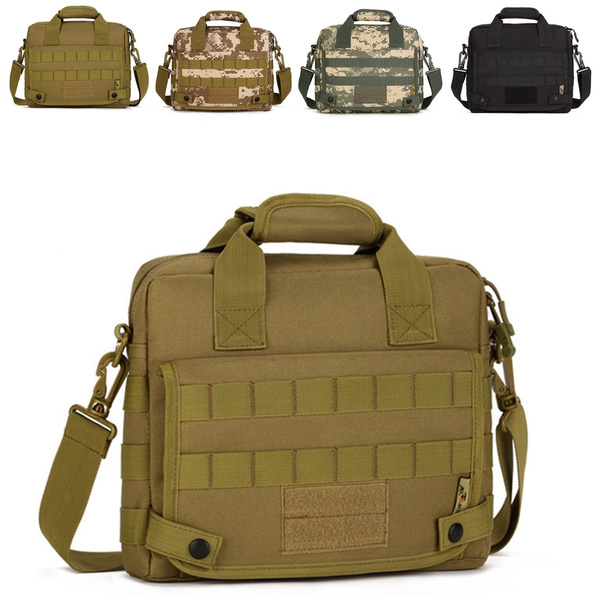 Men Nylon Messenger Shoulder Bag Military Tactical Outdoor Camping Briefcase !