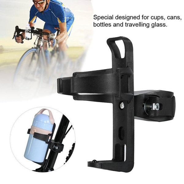Motorcycle Bike Bicycle Drink Water Bottle Cup Holder Mount Cage Quick Release T
