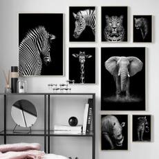 leopardtiger, decoration, giraffe, postersprintspicture