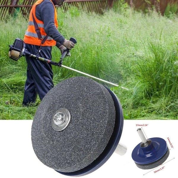 Lawnmower Rotary Drill Blade Sharpener Grinding Garden Sharpener Grinding