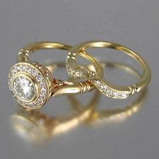 Sterling, Copper, ringsampfinder, wedding ring