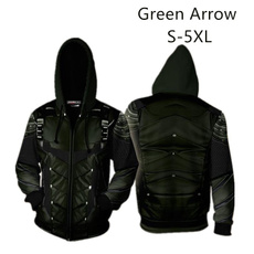 greenarrow, Fashion, Cosplay, greenarrowhoodie