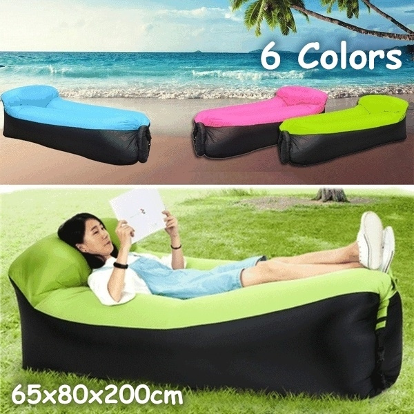 Strange Man Lay Air Bed Bag High Quality Fast Inflatable Lazy Sofa Lounger Air Sofa Bag Chair Outdoor Beach Lounger For Travelling Camping Pabps2019 Chair Design Images Pabps2019Com