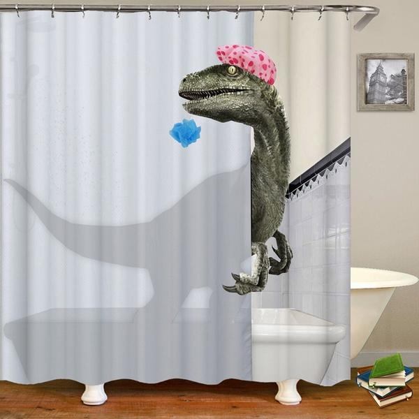 Home Decor Love Bathing Dinosaur
