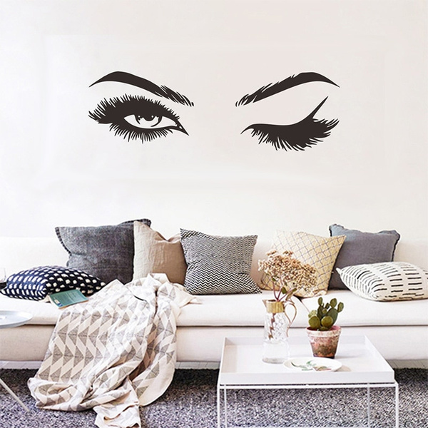 Eyelashes, Home & Kitchen, art, Home & Living