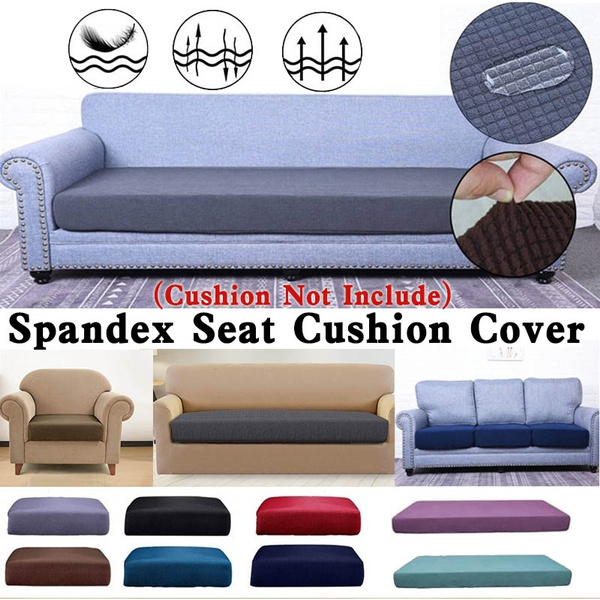 Admirable Polyester Spandex Elastic Sofa Futon Seat Cushion Cover Couch Slip Covers Stretch Slipcover Furniture Protector For Home Living Room 1 4Seaters Ncnpc Chair Design For Home Ncnpcorg