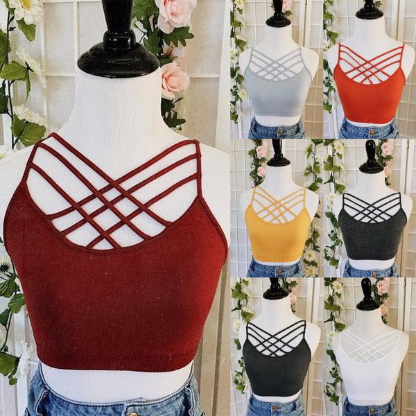 bandagebra, Vest, Fashion, crop top