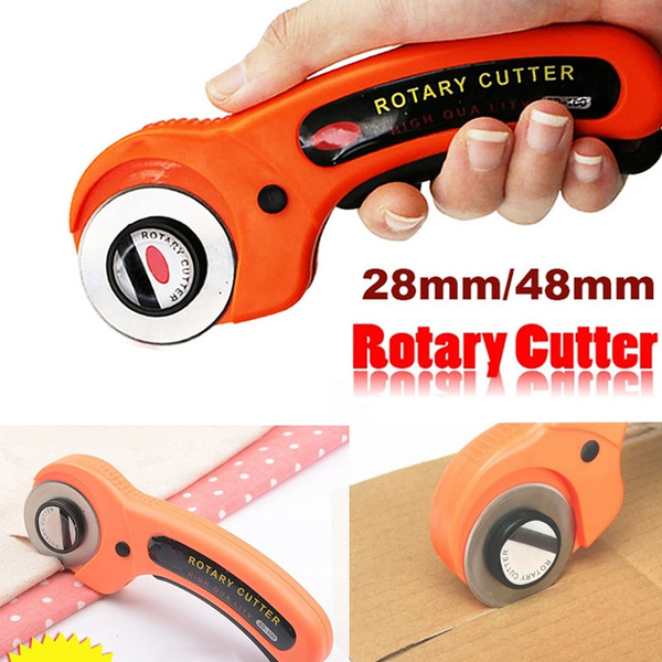 Sewing Rotary Cutter Quilters Cloth Cutting Quilting Fabric Cutting Knife Thread Cutter Craft Tools 28mm 45mm