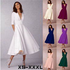 gowns, Necks, Dresses, Vintage