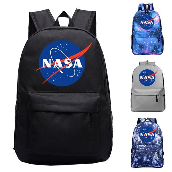 a717a2b6732a Cool NASA Galaxy Backpack Student Boys Girls Schoolbag Book Bag NASA  Printed Shoulder Backpack Bag
