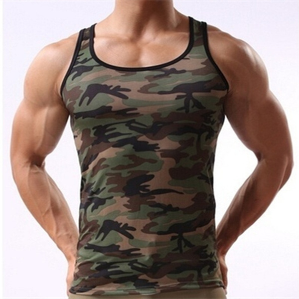 Vest, Fashion, camouflage tank tops, wildtight