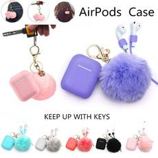 case, cute, keychainstrap, fur