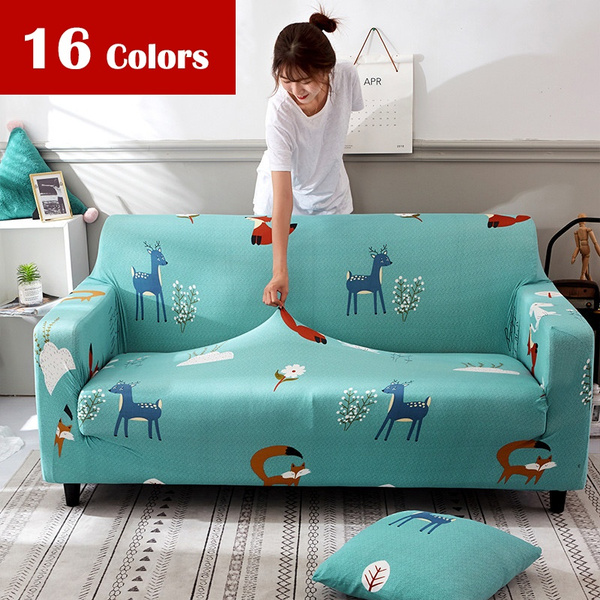 Excellent Elastic Spandex Sofa Cover Tight Wrap All Inclusive Couch Covers For Living Room Sectional Sofa Cover Love Seat Patio Furniture Ncnpc Chair Design For Home Ncnpcorg