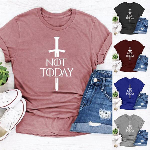 gameofthronesshirt, letterprintshirt, Shirt, Funny
