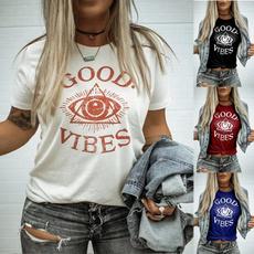 Summer, Vest, أزياء, Cotton T Shirt