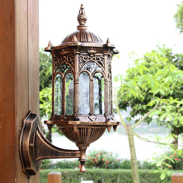 Outdoor Lantern Sconce Porch Light Lamp