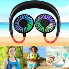 neckbandfan, portablefan, led, sportsfan