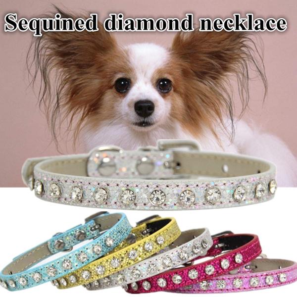 DIAMOND, Dog Collar, Jewelry, catcollar