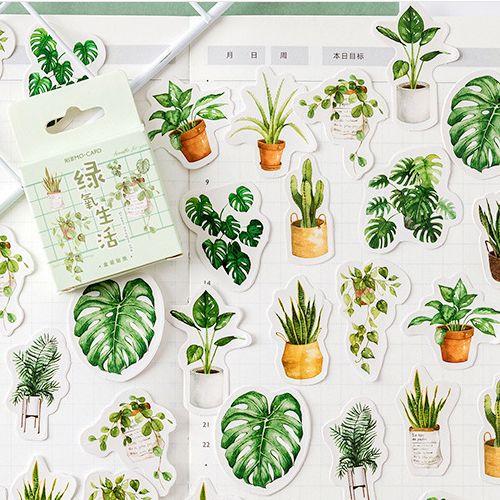 minidecal, Plants, plantsticker, Home & Living