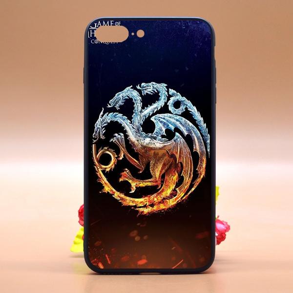 Game Of Thrones Phone Case Design Cool House Targaryen Logo Wallpaper Tpu Pc Phone Case Cover For Iphone Samsung Huawei