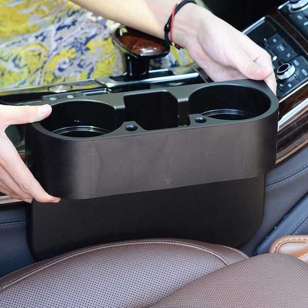 Cup Holder Car Storage Drinking Bottle Can Mug Mount Stand Universal Black