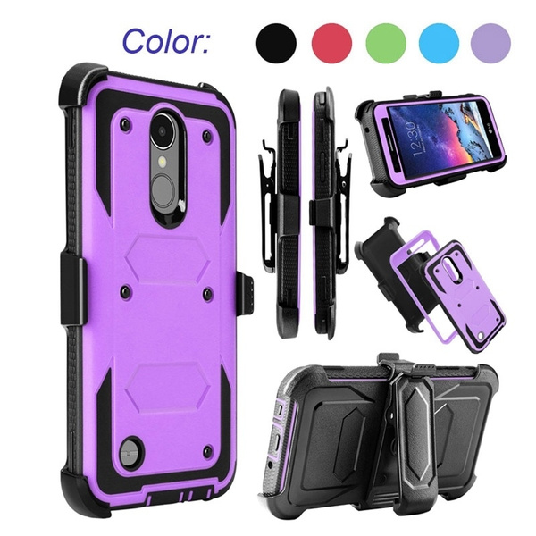 LG Tribute Dynasty Case/LG-Aristo 2 /LG-Aristo Case LG-Rebel 2 Case YUMQUA  Shockproof Heavy Duty Defender Rugged Dual Layer Protection Phone Case