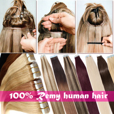 human hair, Hair Extensions, Virgin Hair, hairwefttape