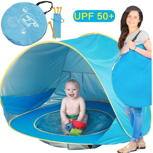 Infant UV Protection Baby Beach Tent Pop Up Waterproof Shade Pool Sun Shelter