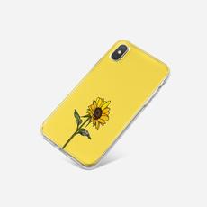 case, cute, Samsung, Sunflowers