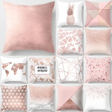pink, sofathrowpillow, Sofás, Simple