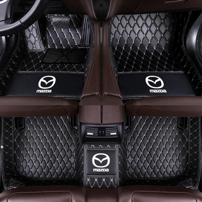 Leather Luxury Car Mats Fashion