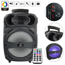 sound, led, portable, bluetooth speaker