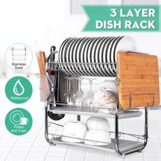 Steel, Kitchen & Dining, drainholder, kitchenshelf