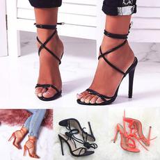 peeptoedsandal, Sandals, heelsforwomen, Womens Shoes