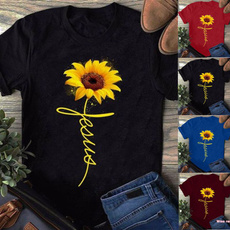 Summer, topsamptshirt, Cotton Shirt, Shirt