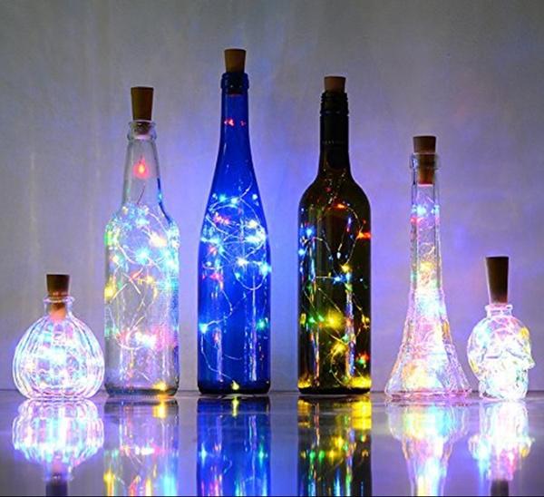 Decor, beleuchtung, weihnachtsdekor, lights