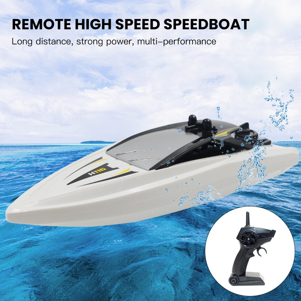 Rc Boat Toys Remote Control Boat High Speed Rc Racing Boats For Kids Adults Outdoor Toys Children S Gifts
