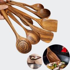 soupspoon, Wooden, kitchengadget, Tool