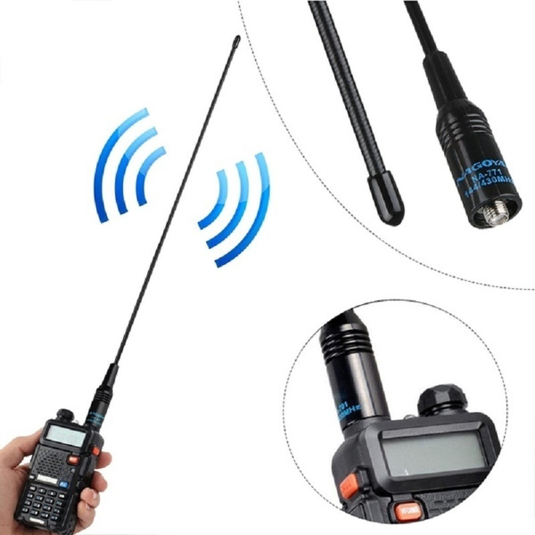 10W NA771 144//430MHz SMA Female Antenna Nagoya Dual Band for Baofeng UV5R UV-82
