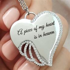 Heart, Christian, apieceofmyheartisinheaven, Angel