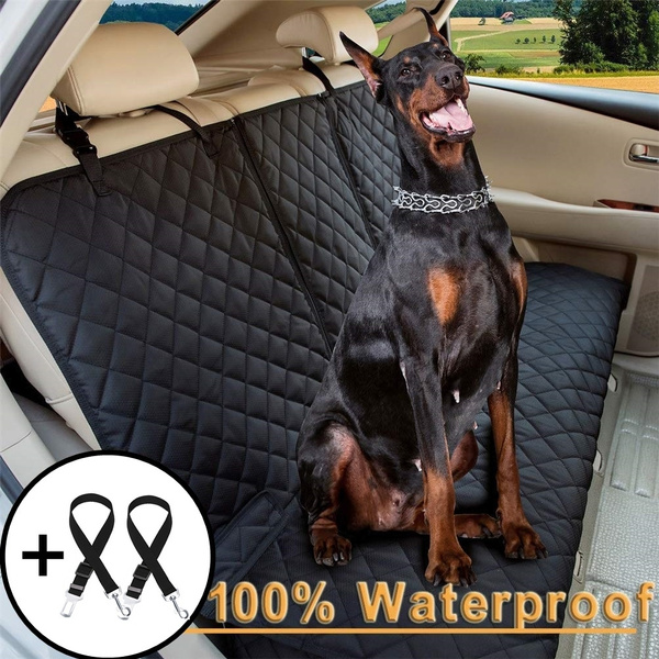 Stupendous New Waterproof Dog Car Seat Covers Pet Seat Cover Nonslip Bench Seat Cover Compatible For Middle Seat Belt And Armrest Fits Most Cars Caraccident5 Cool Chair Designs And Ideas Caraccident5Info